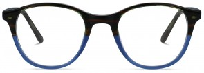 Jack & Francis FR127 - Apollo - Chocolade fades Crystal Indigo Glasses