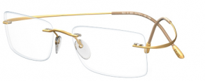 IWG Titanium Flex Gold Rimless Glasses