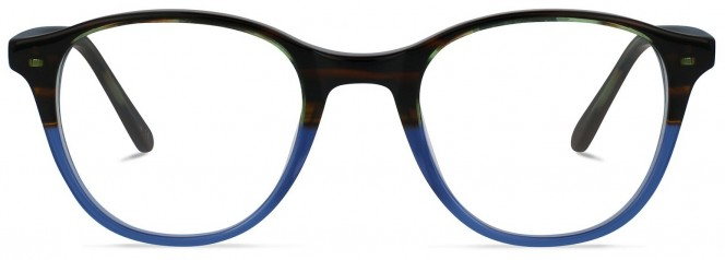 Jack & Francis FR127 - Apollo - Chocolade fades Crystal Indigo Glasses