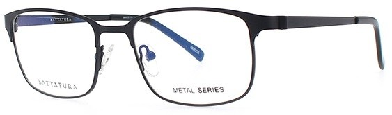 Battatura BM005 - Gabriele - Matt Black Glasses