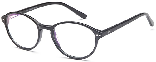 Brooklyn D45 Black Glasses