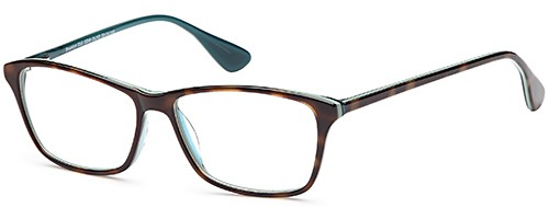 Brooklyn D52 Demi Olive Glasses