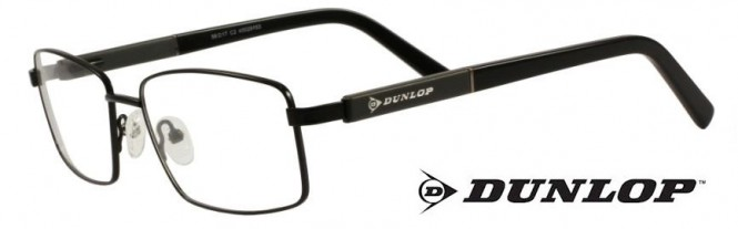 Dunlop D161-2 Black Titanium Glasses