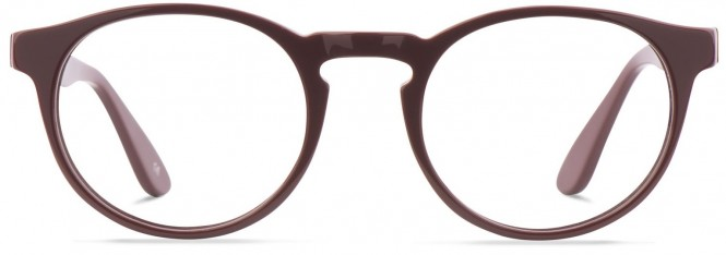 Jack & Francis FR53 - Mack - Burgundy Glasses