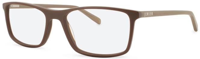 New Lenses Premium JN8014 C1 Brown Glasses