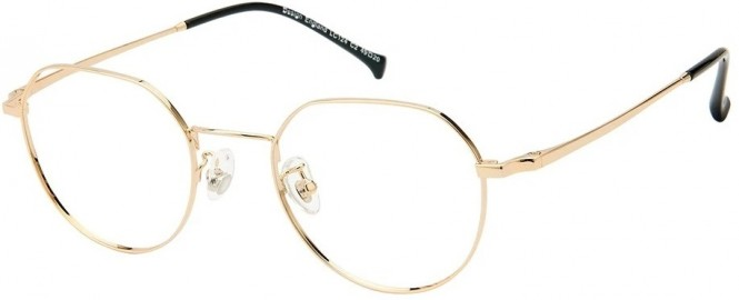 NewLenses Premium LC124 C2 Gold Glasses