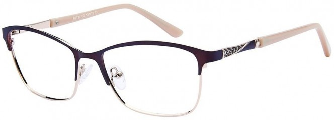 Romeo & Juliet 730 C2 Brown Gold Glasses