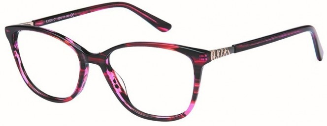 Romeo & Juliet 736 C1 Pink Black Glasses