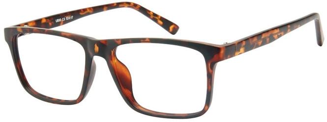 NewLenses Univo Base 90 C3 Tortoiseshell Glasses