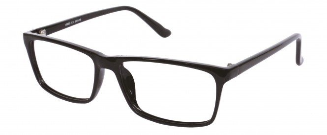 NewLenses Univo Base 89 C1 Shiny Black Glasses
