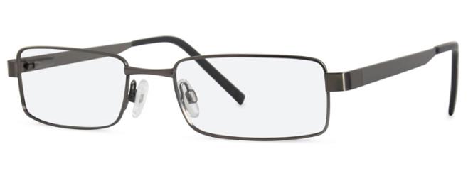 New Lenses ZP4424 C1 Gunmetal Glasses.