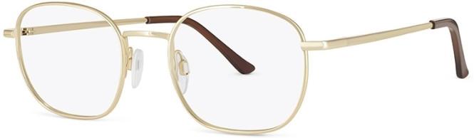 New Lenses ZP4488 C2 Gold Glasses