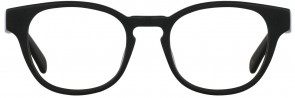 Battatura B37 - Cesare - Raw Italian Black Glasses