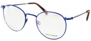 Battatura BTT38 - Dwight - Matt Dark Blue Titanium Glasses