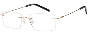 Emporium 7588 Rimless Glasses