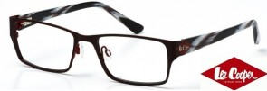 Lee Cooper LC9053 C2 Red and Black Stripe Glasses