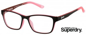 Superdry Yumi 104 Matte Black Pink Fade Glasses