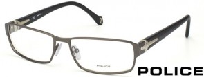 Police V8738 0627 Gunmetal Glasses