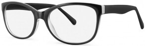 New Lenses ZP4018 C1 Black Glasses