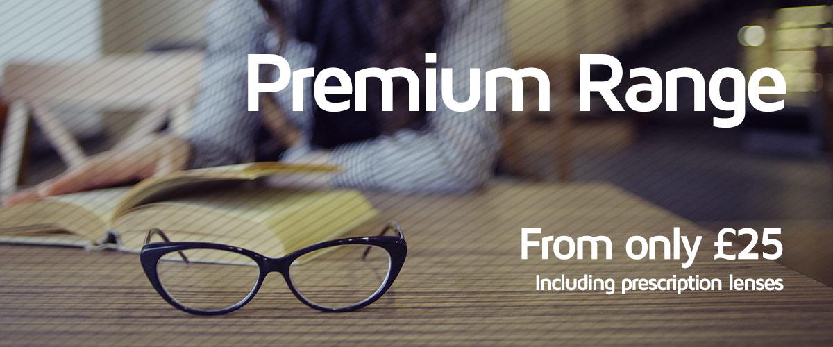 Premium Glasses Banner